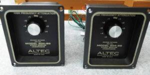 ALTEC 604-8G用ネットワーク